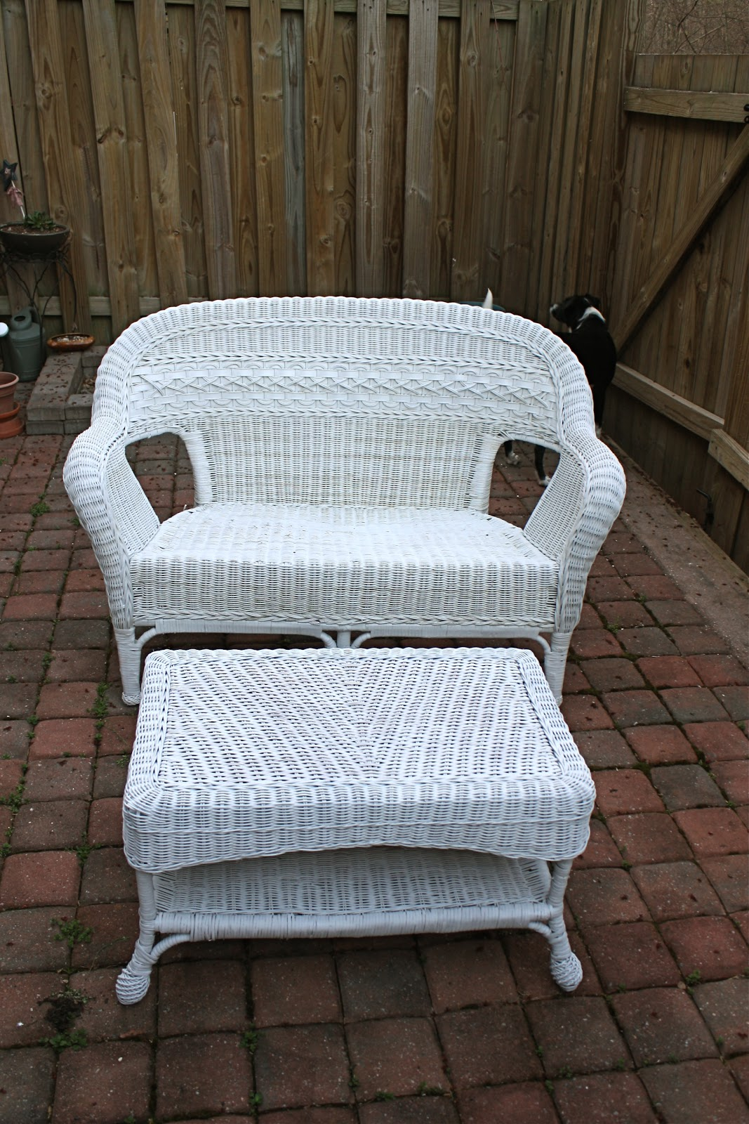 Simply Diy 2 Upgraded Wicker Patio Set