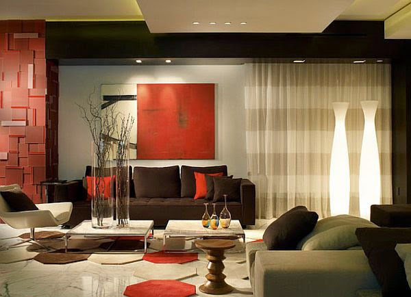 creative gypsum ceiling design for living room with accessories 2015%2B(2) Living room decorating ideas