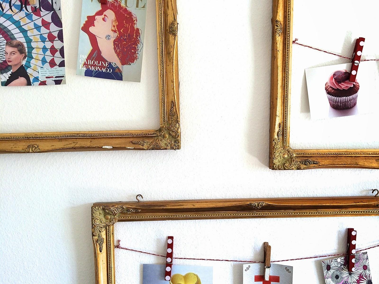 postkarten bilderrahmen und palette tisch oder ein sneak peek in die stube sims labim. Black Bedroom Furniture Sets. Home Design Ideas