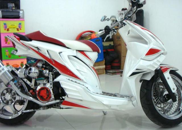 Gambar Modifikasi Motor Honda Beat