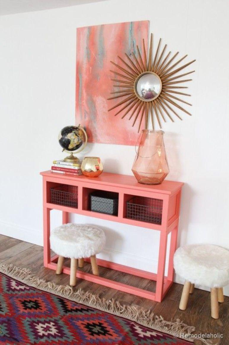 decoracin vintage y eco chic diy un mueble recibidor a partir de un armario de cocina