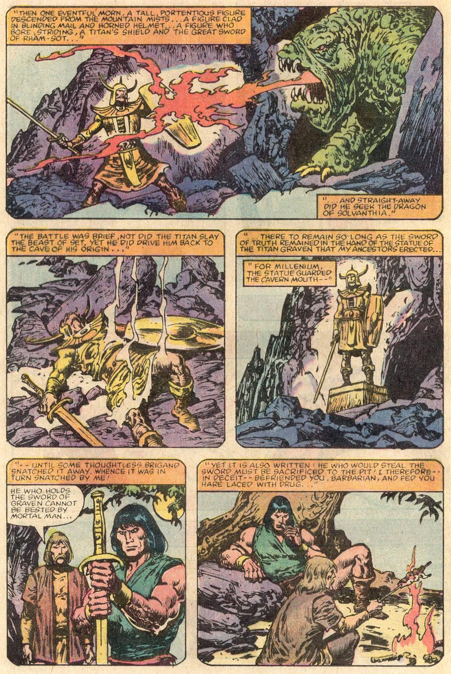 Conan the Barbarian (1970) Issue #144 #156 - English 9