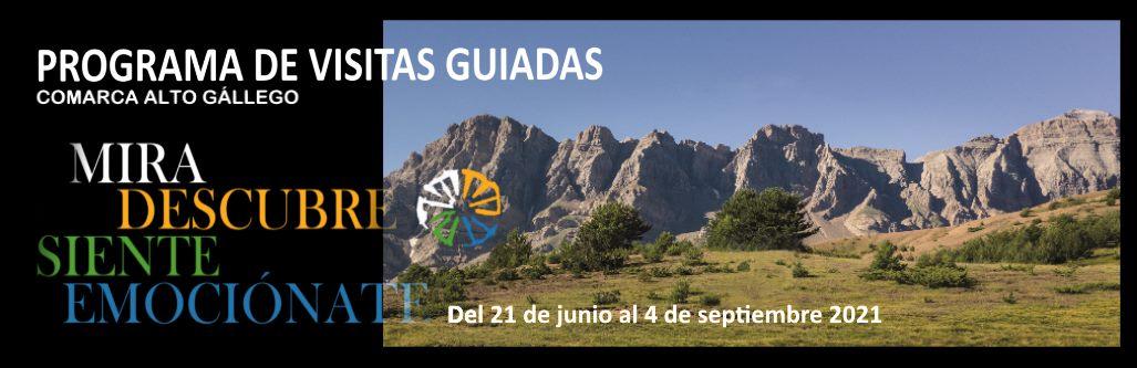 Programa Visitas Guiadas Comarca Alto Gállego 2021