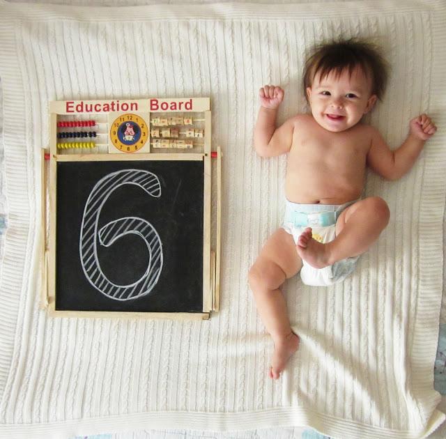 Стефании 6 месяцев