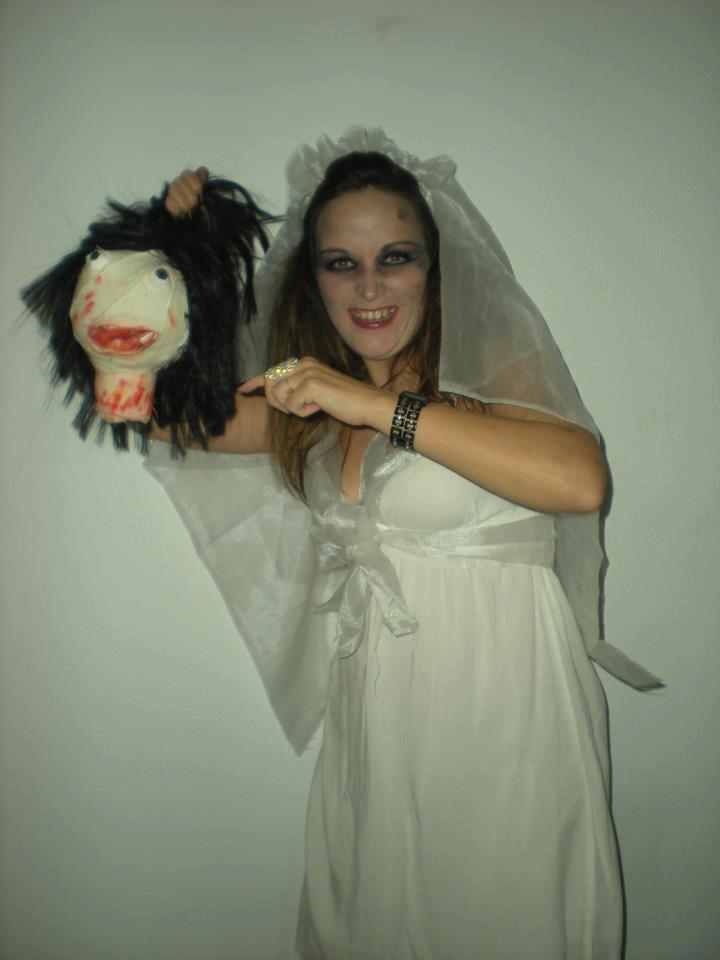 disfraz halloween novia cadáver fácil ~ vero4casa