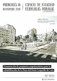 Presentación propuesta rehabilitación Plaza del Poeta Leopoldo de Luis