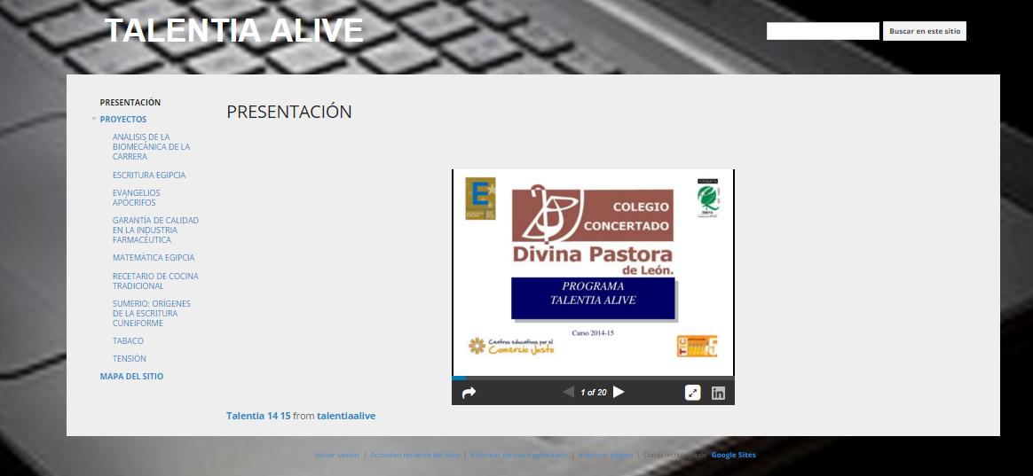 TALENTIA ALIVE 2013-2015