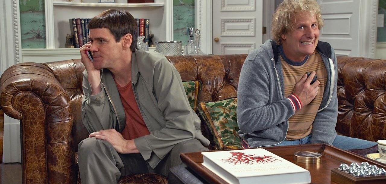 Cenas inéditas no trailer internacional da comédia Debi & Lóide 2, com Jim Carrey e Jeff Daniels