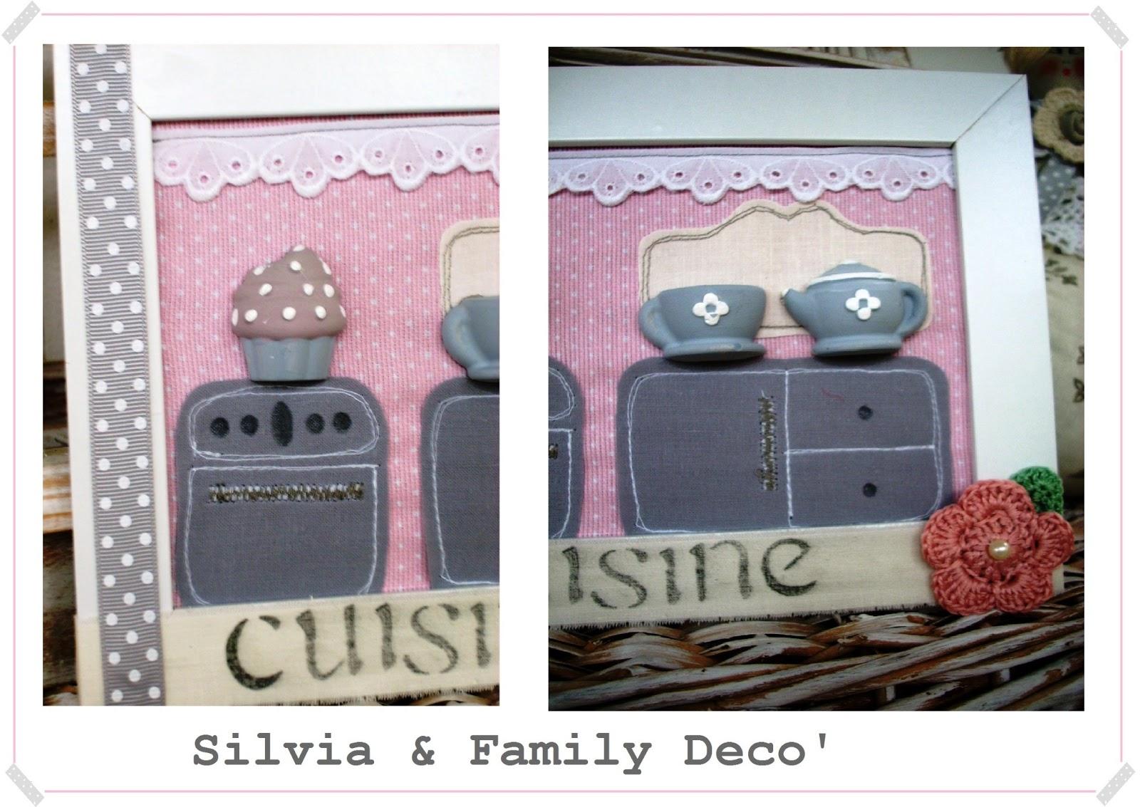 Silvia family dec quadretti per la cucina - Quadretti per cucina ...