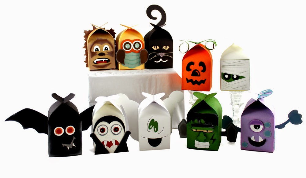 Pazzles Halloween Treats Cutting Collection