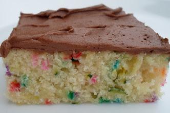 funfetti zucchini cake