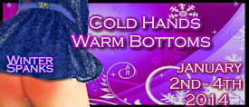 Winter Spanks: Cold Hands, Warm Bottoms Blog Hop
