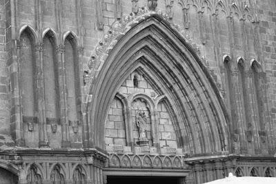 Church of Santa Maria del Pi in Barcelona