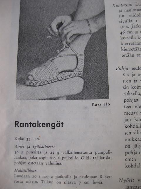 ohje kenkien tekemiseen