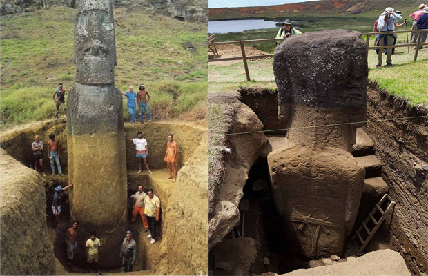 Scientists Uncover A Shocking Discovery Underneath The Easter Island Head