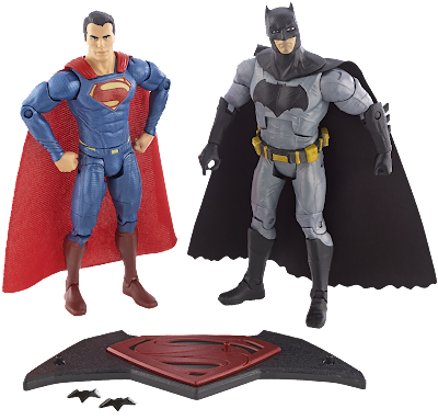 Batman V Superman Movie Masters Action Figure SDCC 2015 2 Pack
