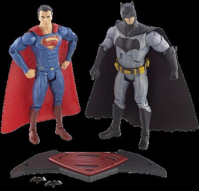 Batman V Superman Movie Masters Action Figure SDCC 2015 2 Pack