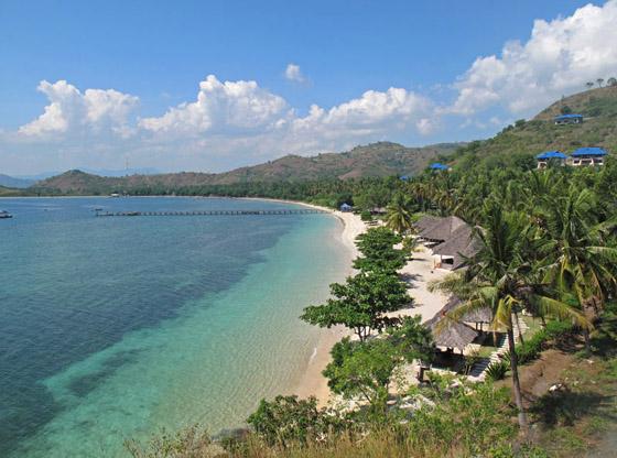 wisata lombok pantai alam perawan objek pulau