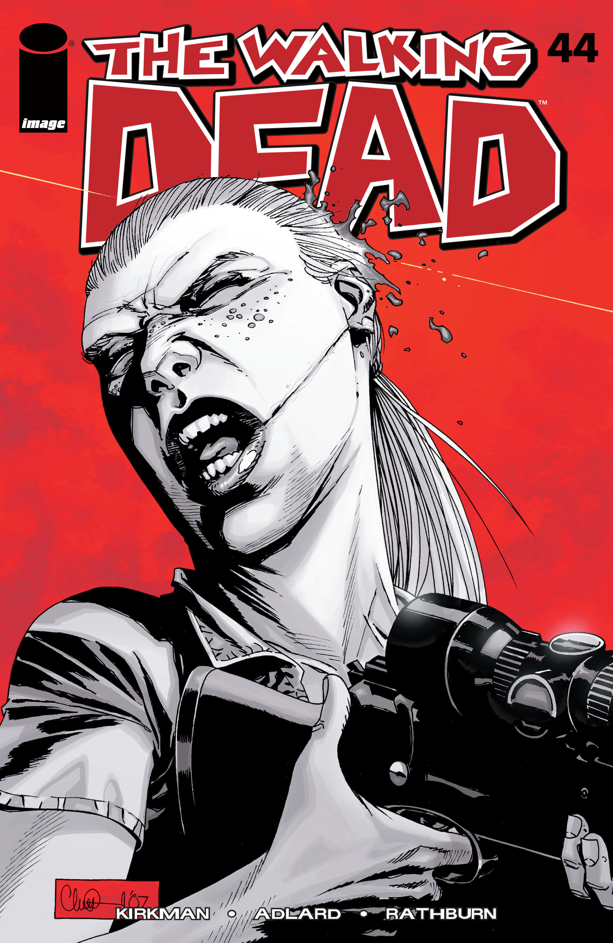 The Walking Dead Issue #44 Page 1