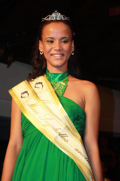 Miss Sechelles Another World 2012 winner Sherlyn Ferneau