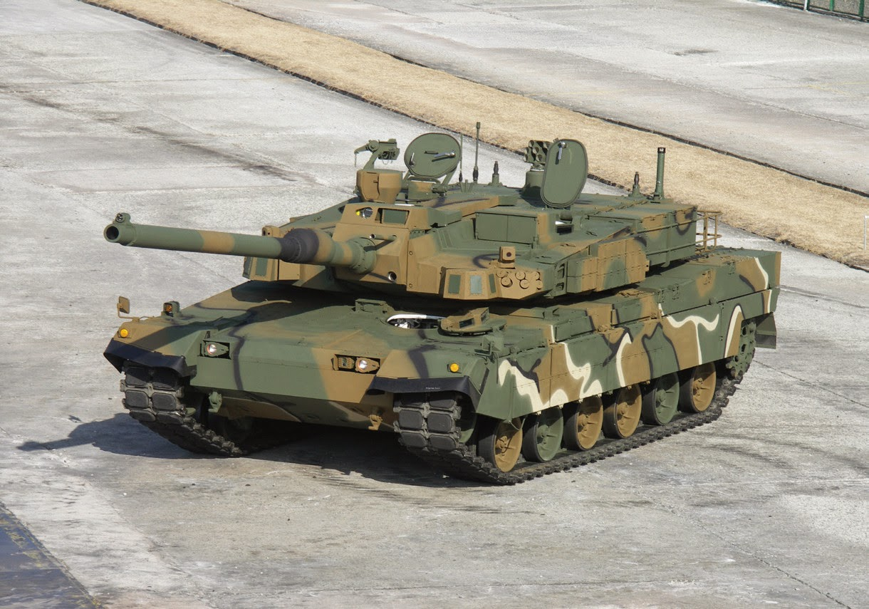 Korean K2 MBT