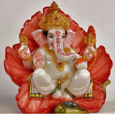 Ganesh Chaturthi Lord Bal Hurting Goddess Mother Parvati And