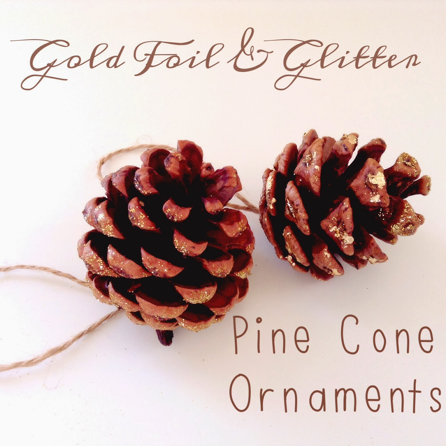 {DIY} Christmas Ornaments