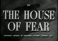 La casa del miedo | 1945 | The house of fear