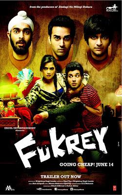 Fukrey Hindi Movie Poster