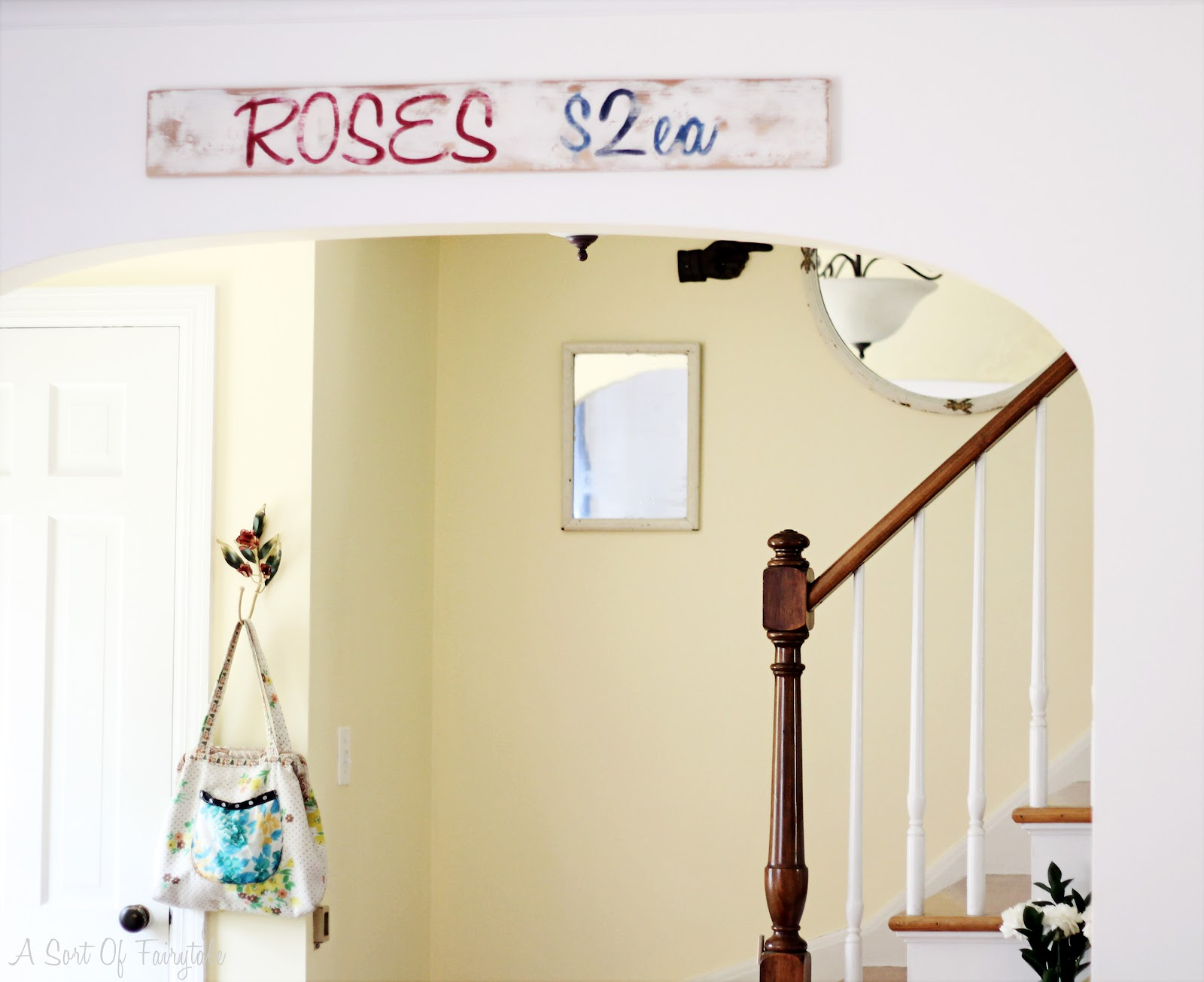 A Sort Of Fairytale: Cottage Style and Color {my home} - New Paint ...
