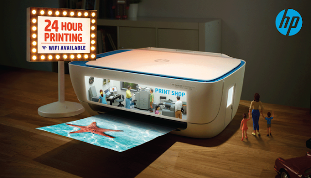 Your personal 24 hour printing facility, with wifi, by HP