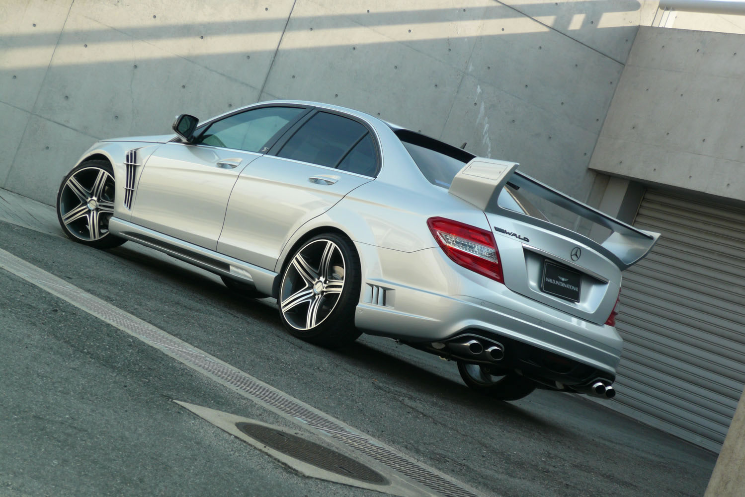 World Car Wallpapers 2012 Mercedes Benz C Class