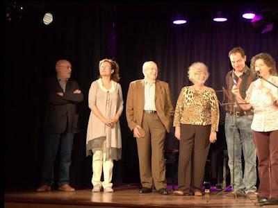 Sílvia Romero i membres del Jurat - Fotografia: Ferran d'Armengol