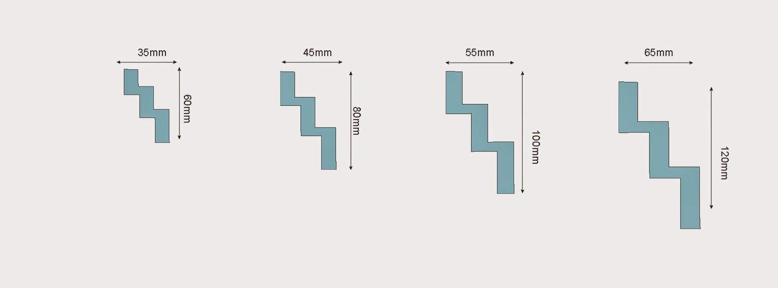 cornise polistiren dimensiuni. profile decorative pentru interior casa