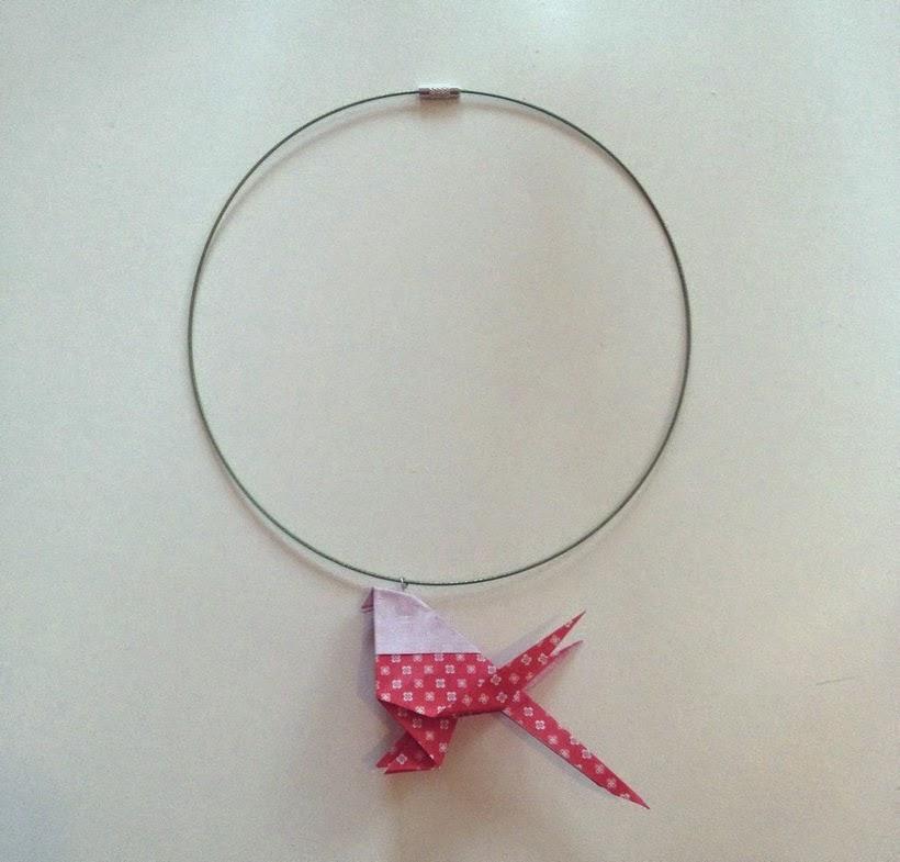 bijoux origami blog DIY