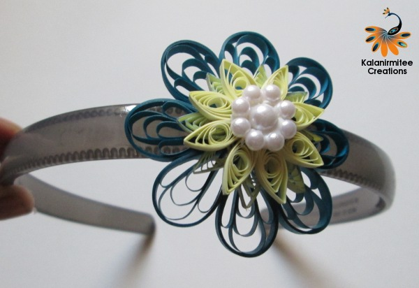 quilled hairbands kalanirmitee