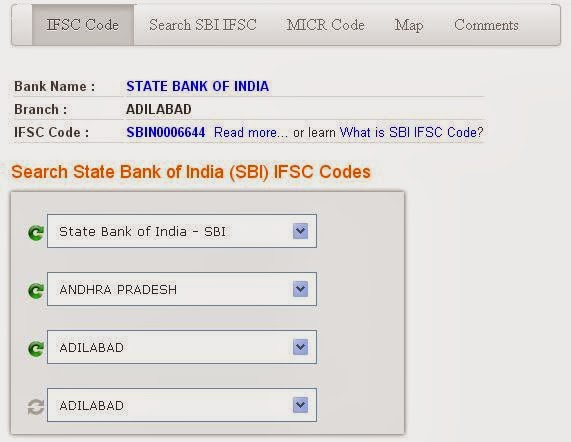 Type MICR code to Know IFSC code of any Bank in India ...