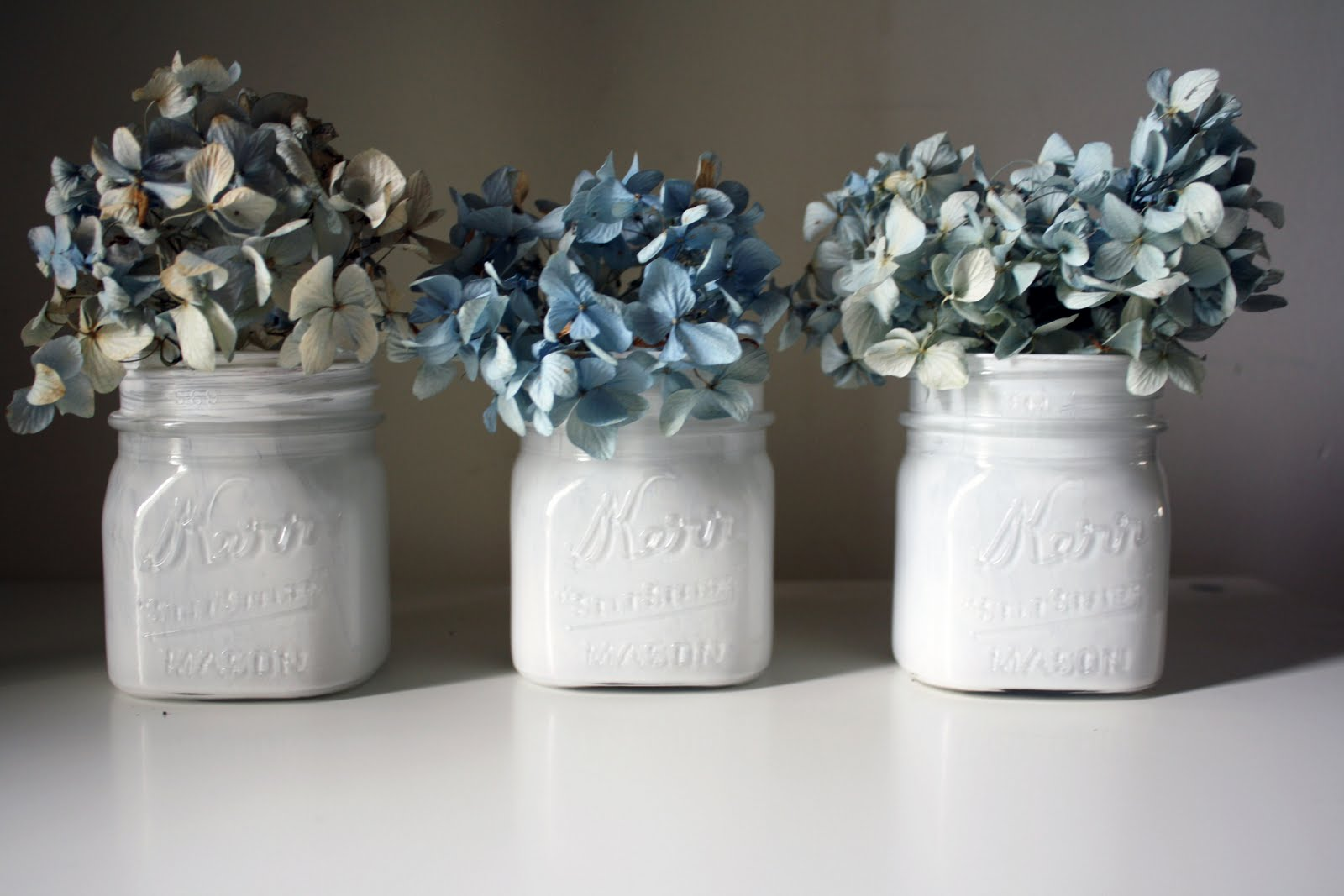 mason jars painted - photo #24