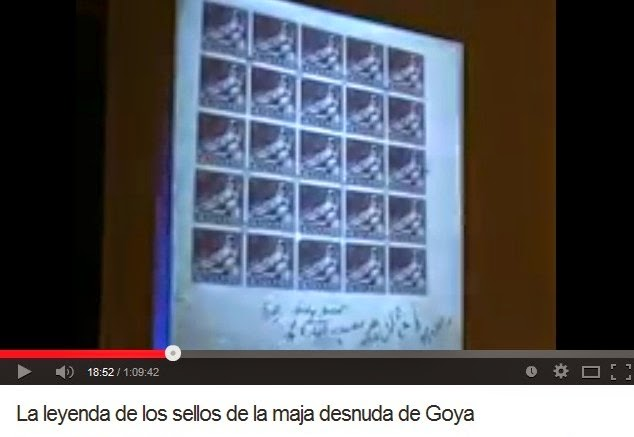 LA LEYENDA DE LOS SELLOS DE LA MAJA DESNUDA DE GOYA (EUGENIO DE QUESADA)
