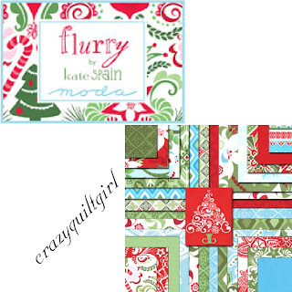 Moda FLURRY Christmas Quilt Fabric by Kate Spain