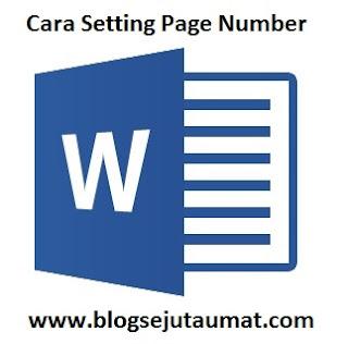 Cara Memisahkan halaman Page Number dari Cover di Microsoft Word