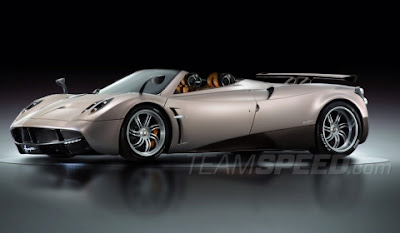 AUTO DEPORTIVO PAGANI HUAYRA CARRO VERSION ROADSTER