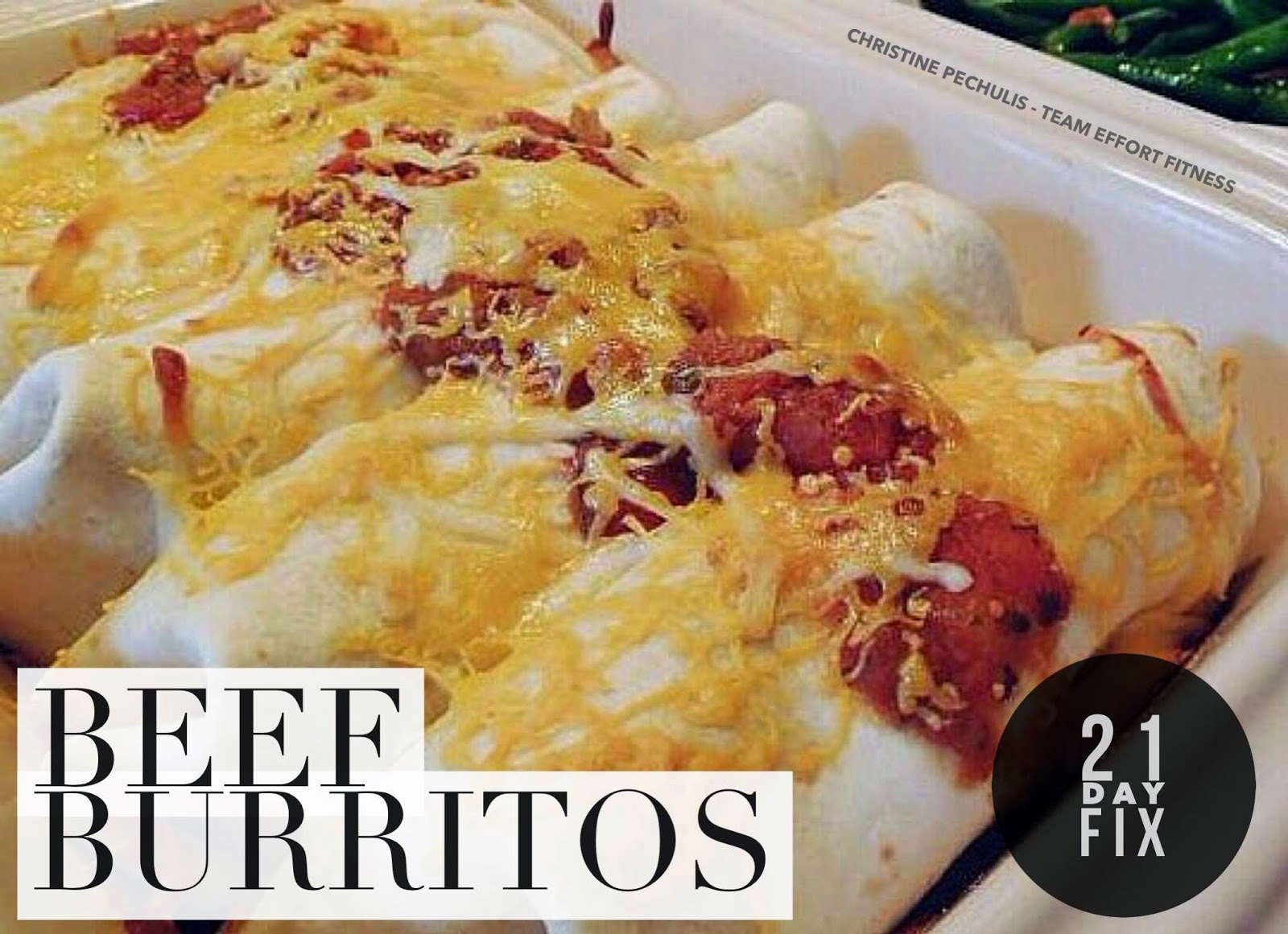 family fitness food flavor healthy beef burrito recipe