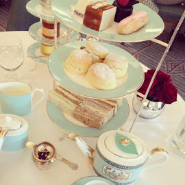 High Tea in Fortnum & Mason