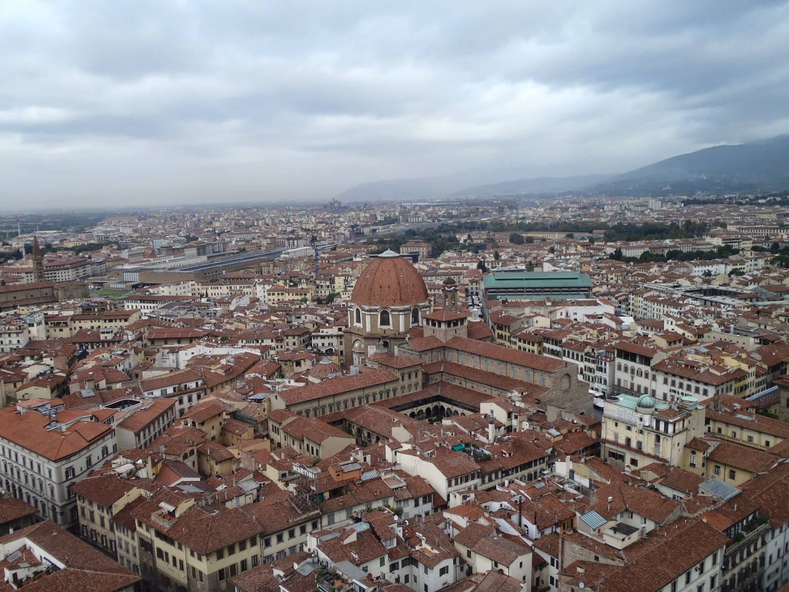 view from the duomo Florence