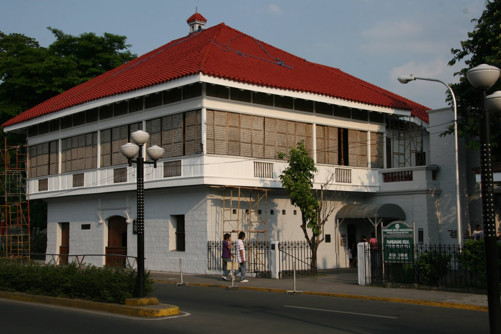 a visit to jose rizals house Could national hero, dr jose rizal, have written a poem in pangasinan language local historians in pangasinan province wanted to find this out, after a former marketing executive claimed that his father used to read a book that contained rizal's poems in.