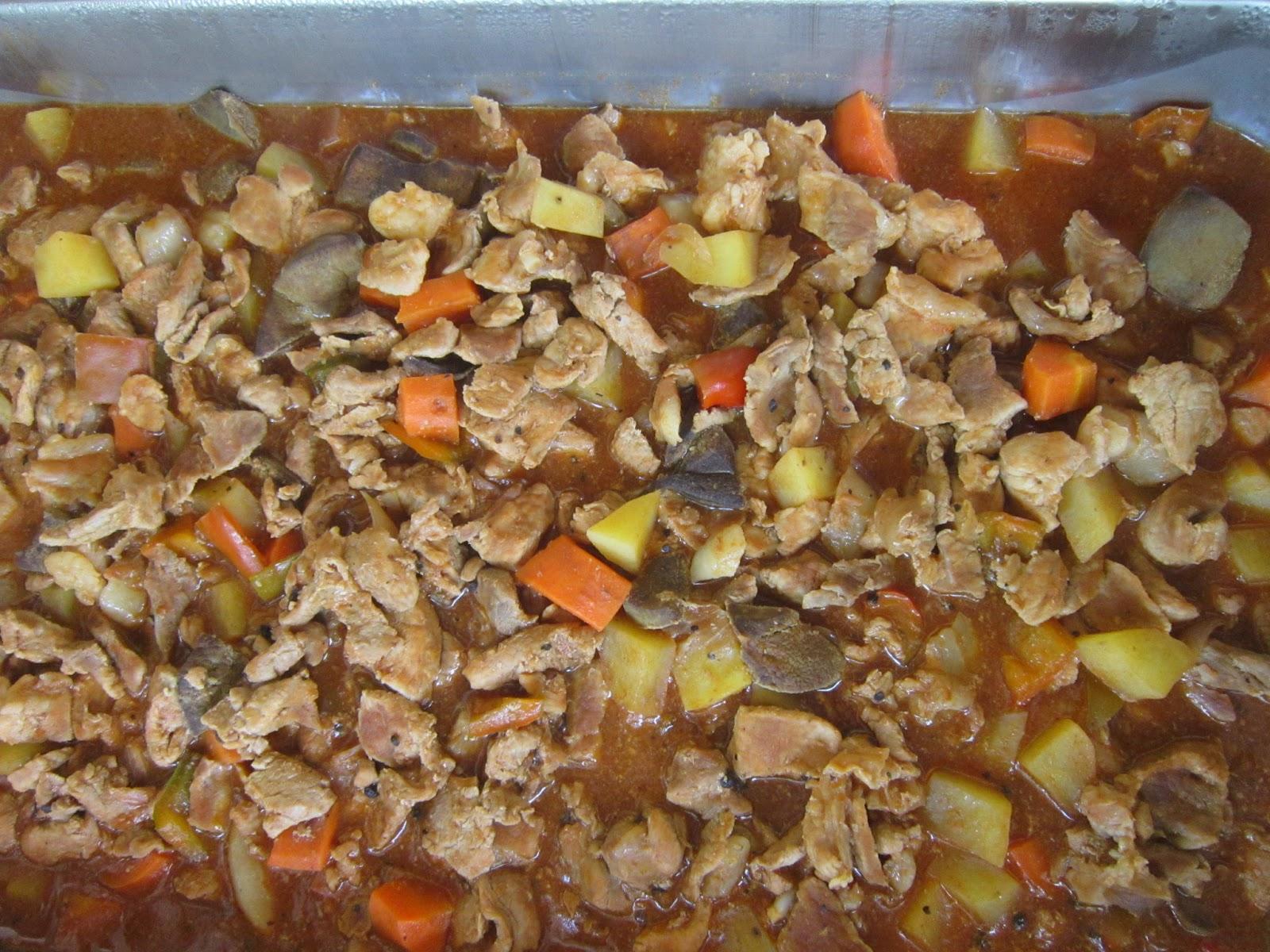 Ang balibayan din ang sumagot dito sa pork afritada na ipinaluto sa