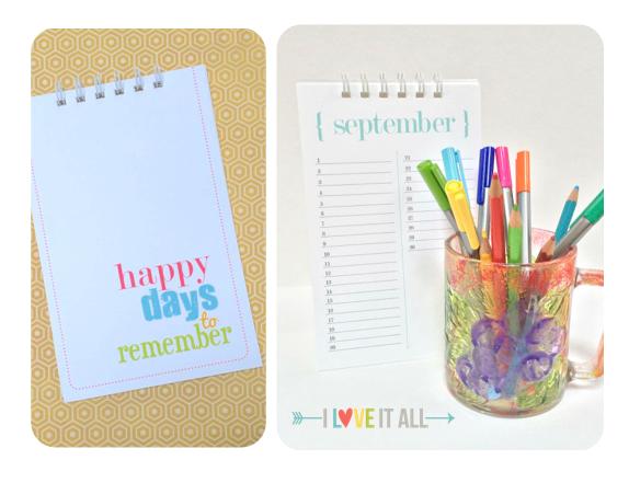 Perpetual Calendar | iloveitall.etsy.com