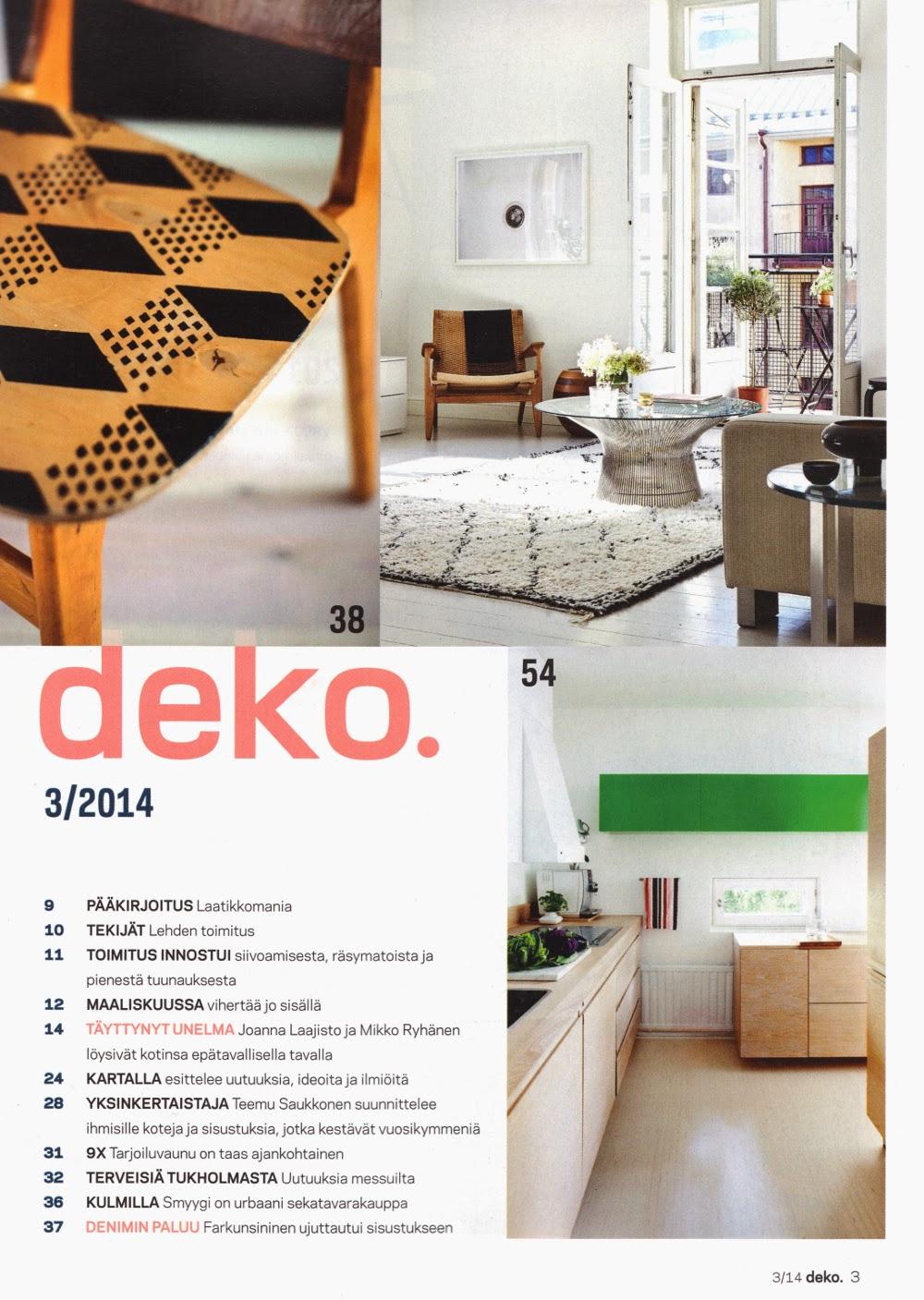 Deko Magazine nordic design and lifestyle beautifully printed deko magazine