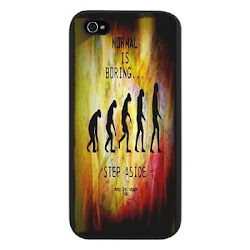 Funny Normal Is Boring iPhone 5 Case